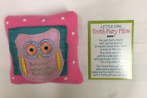 Ganz Tooth Fairy Pillow Pink
