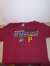 Altoona Curve Mens Size L T-Shirt , MILB Pittsburgh Pirates ,Gildan Red