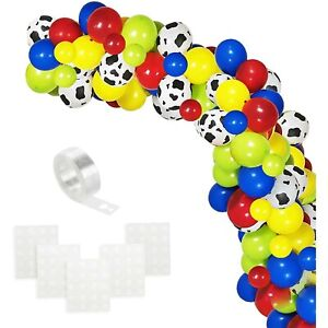 Toy Story Balloons 120 Pcs Cow Pattern Balloon Arch Garland Party Supplies Color