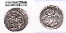 Ungarn Denar Bela IV. geflügeltes Tier Huszar 336 Erhaltung