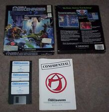 PC DOS: Tegel 's Mercenaries-Mincraft 1993