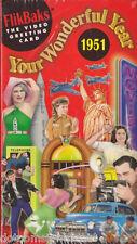 FLIKBAKS Your Wonderful Year 1951 VHS Video Tape 1998 New Sealed