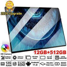 "11.6"" Black 10GB+512GB - Dual Sim - 10 Core Android Tablet Wi-Fi Bluetooth"