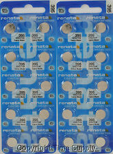 25 pc 395 Renata Watch Batteries SR927SW FREE SHIP 0% MERCURY