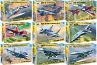 ZVEZDA - Soviet / Russian Aircrafts - Plastic Model Kits 1:72 Unpainted