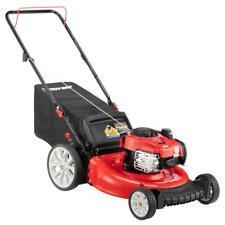 Troy-Bilt Push Lawn Mower 21 in. 140 cc Bagger TriAction Cutting System