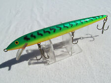 "RAPALA Original Floating Minnow F-18 ""FIRETIGER"" Fishing Lure FINLAND"
