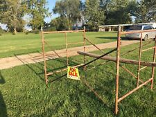 Used Drywall Scaffolding, 5ft tall, 7ft long, 5ft wide