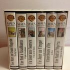 COFFRET 6 K7 VIDEO VHS COLLECTION MARX BROTHERS