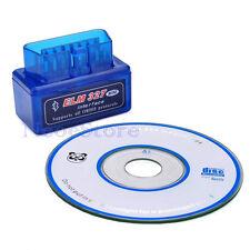Mini Auto Car ELM327 OBD2 ODBII Bluetooth CAN Scanner Tool TORQUE ANDROID