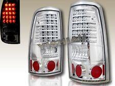 99-02 Chevy Silverado / 99-03 GMC Sierra 1500/2500 Chrome LED Tail Lights