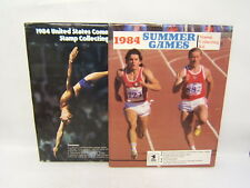 Lot of 2 Stamp Collecting Kits 1984 Summer Olympics/ US Commemorative 1984 BR