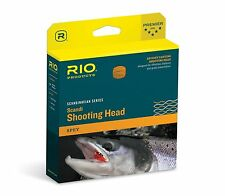 RIO NEW SCANDI SHORT 330-GR 5/6 WT SPEY ROD CONNECTCORE SHOOTING FLY LINE HEAD