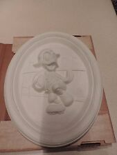 Vintage Walt Disney Donald Duck Character Ceramic Bisque 8031 Ready to Decorate!