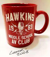 Stranger Things Hawkins Middle School AV Club Coffee Mug Netflix