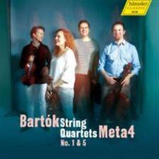Bartok: String Quartets Nos. 1 & 5, New Music