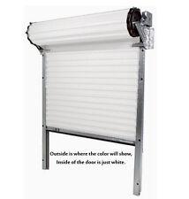 Model 650 - [5' x 7'] Light Duty Rolling Self Storage Steel Roll-Up White Door