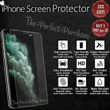 Tempered Glass High Quality Clear Screen Protector For All Apple iPhone Models!
