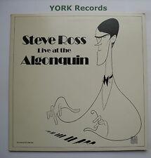 STEVE ROSS - Live At The Algonquin - Ex Con LP Record Stolen Moments SM 1939