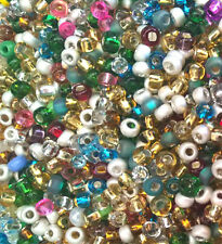 """New listing Czech Glass Seed Beads Size 10/0 """" Mix Forest Crunch """" Loose 50 Grams"""