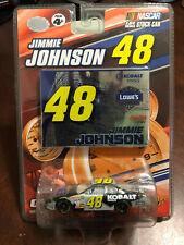 2007 Jimmie Johnson Kobalt Tools card & car 1:64 WC Winners Circle