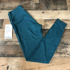 "Lululemon Wunder Under High Rise Tight 25"" Nulux Size 8 Emerald"