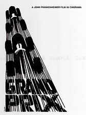 Pubblicità culturale MOVIE FILM GRAND PRIX James raccogliere Usa poster stampa bb2207a