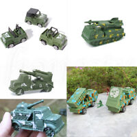 Military Army Truck Armored Car Model Missile Launch Vehicle Children Toy Kids