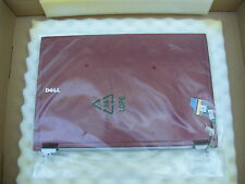 DELL J768G LATITUDE E4200 LCD BACK COVER WITH HINGES RED
