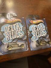 Hot Wheels Delta Blue 32 Ford Vicky NIB Lot Of 2