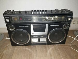 Sanyo M4500KE  Stereo-Radiorecorder-Ghettoblaster, Kassettenrecorder