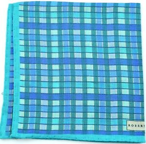 NEW Robert Talbott Linen Pocket Square *$95 retail* NWT (031921)