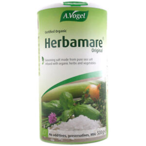 A Vogel Herbamare 500g Seasoning Salt Pure infused with Organic Herbs and Veg