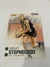 2020 Afl Select Auskick Base Card Jaidyn Stephenson Collingwood