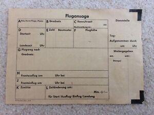 Ww2 german military Luftwaffe aircraft airforce aeroplane combat report original