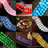 Lots 50Pcs Natural Cat Eye Gemstone Loose Beads For Bracelet Jewelry Finding 8MM