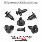 10x Mounting Clips Wheel Housing Cover Clip Ford Mitsubishi Nissan Clip NEW