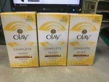 3 Pack OLAY Complete All Day UV Moisturizer SPF 15 Normal 6 oz New in Box