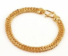 "Yellow Gold 8 - 8.49"" Fine Bracelets without Stones"