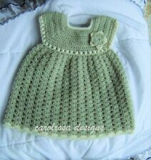 Crochet PATTERN Giselle Baby CHRISTENING dress - Up to 2/3 years child FREE PP