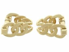 Vintage French 18Carat Yellow Gold Cufflinks 1960s