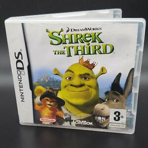 Shrek The Third Nintendo DS Complete With Manual ~ FREE SHIPPING