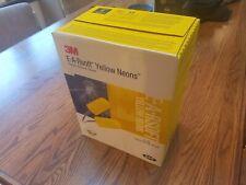 3M E A R soft Yellow Neons ear plugs 311-1250 /200 per box