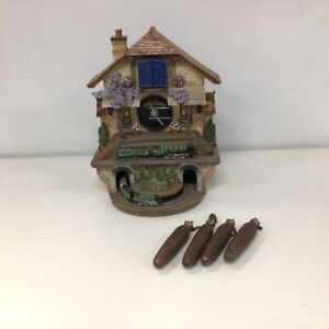 The Bradford Exchange Flying Scotsman 'Memories Of Steam' Cuckoo Clock #600
