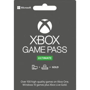 Xbox Live Gold + Game Pass (Ultimate) - 3,6 or 12 Month CD Keys (EUROPE ONLY)