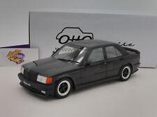 "OTTOmobile OT754 # Mercedes Benz 190E 2.3 AMG Baujahr 1984 in "" black "" 1:18 NEU"