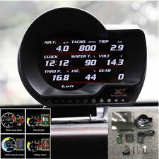 OBD2 Car Oil Water CVT Temperature Speed Fuel Guage Data Reading Auto-dimming