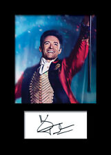 HUGH JACKMAN #1 A5 Signed Mounted Photo Print - FREE DELIVERY