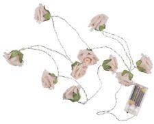 LED Lichterkette Minirosen Rosen Lichtgirlande romantische Beleuchtung Innen