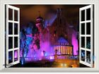 Disney Land Haunted Mansion 3D Window Wall Decals Stickers Party Decor Halloween